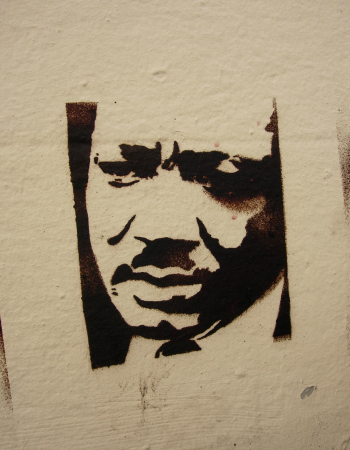 Martin Luther King | Graffiti in Brigthon Bild: idleformat (flickr.com) unter cc by 2.0